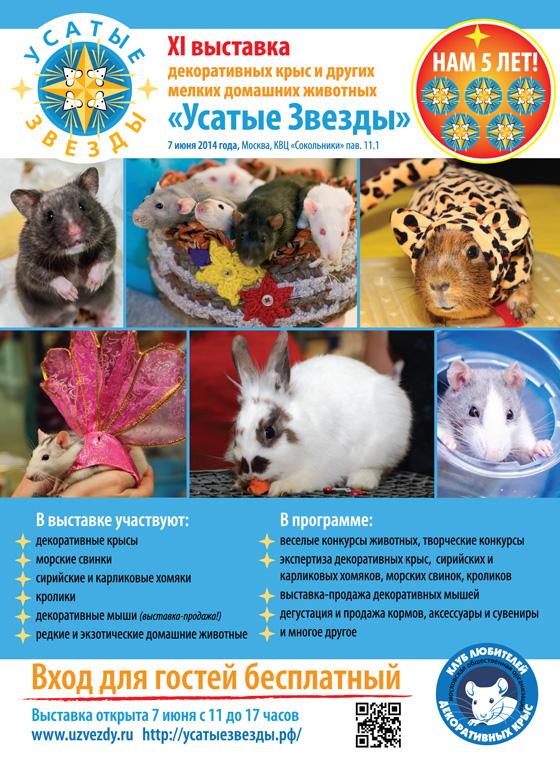 """Публикации о XI выставке """"Усатые звезды"""""""